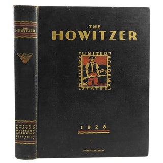 Howitzer 1928 Usma Yearbook West Point
