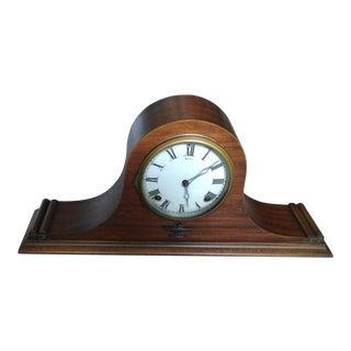 Ingraham Humpback Magic Duplex Wood & Mantle Clock