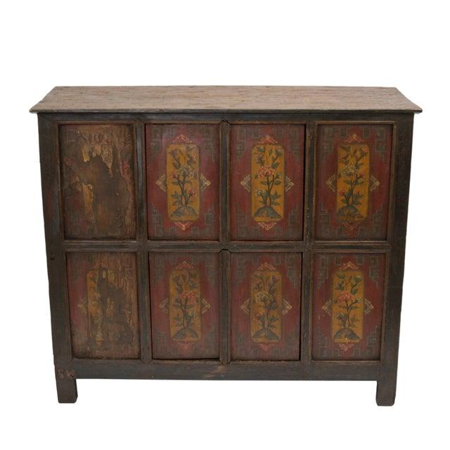 19th Century Tibetan Cabinet - Image 1 of 2