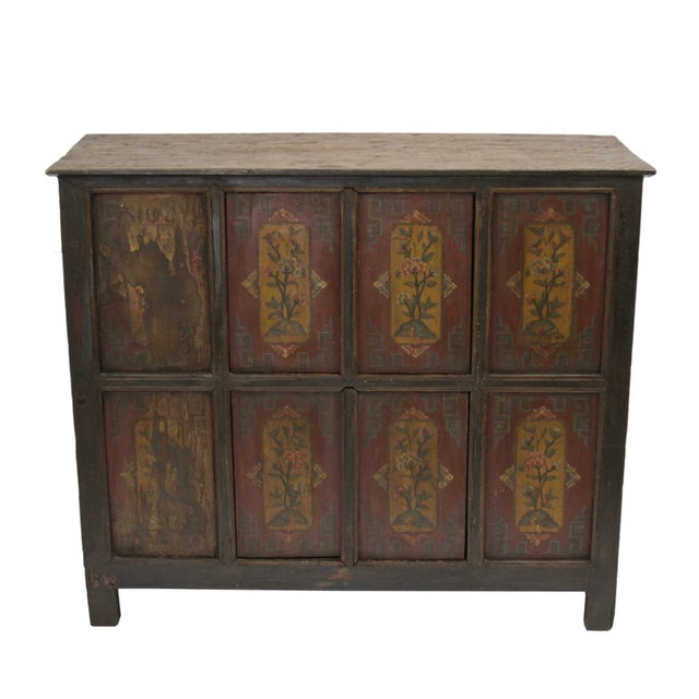 Image of 19th Century Tibetan Cabinet
