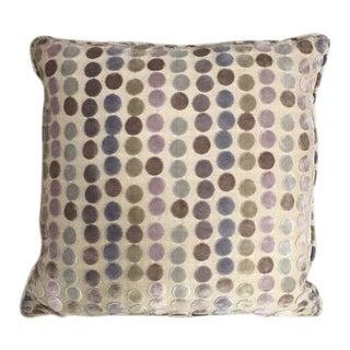 Kim Salmela Circular Patterned Pillow