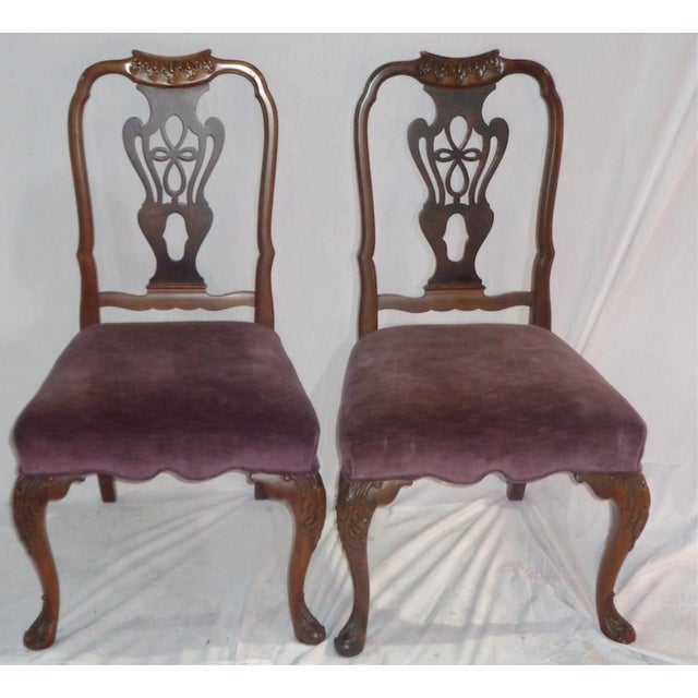 Batesville Mahogany Dining Chairs- Set of 6 - Image 6 of 11