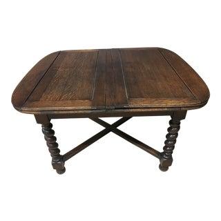 Vintage Barley Twist Dining Table