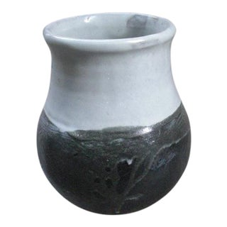 Wide Mouth Studio Ceramic Vase