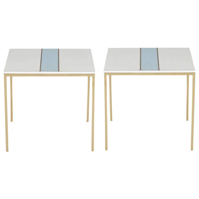 Pair of Cafe Tables for Bel Air Country Club in the Style of Paul Laszlo - Image 1 of 10