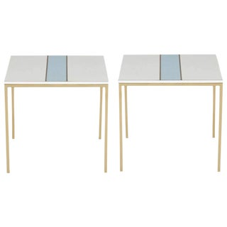 Pair of Cafe Tables for Bel Air Country Club in the Style of Paul Laszlo