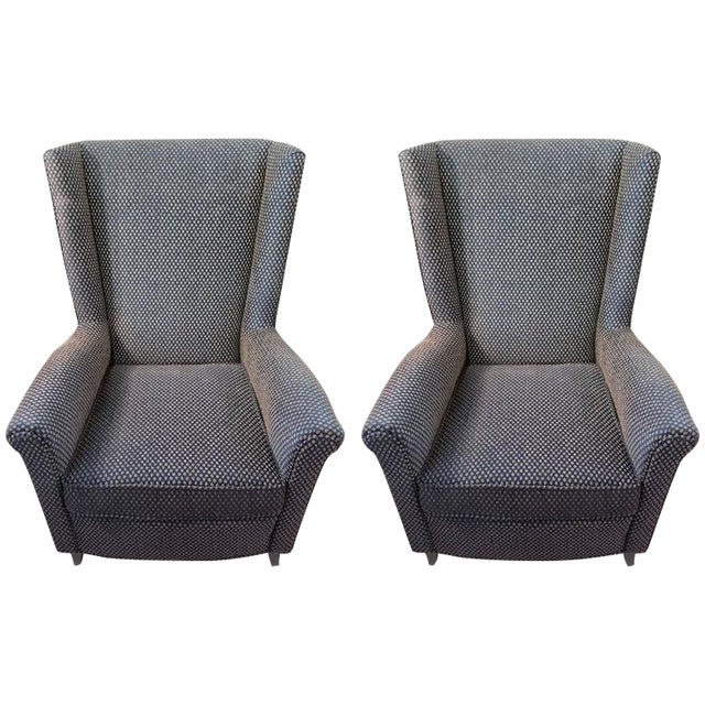 Mid-Century Armchairs - A Pair - Image 1 of 9