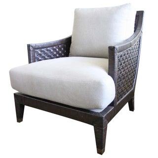McGuire Saint Germaine Lounge Chair in Truffle