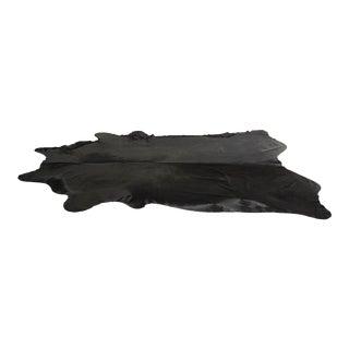 Black Brazilian Cowhide - 6′6″ × 8′6″
