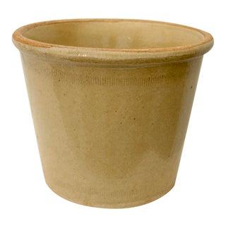 Rustic Glazed Pottery Planter