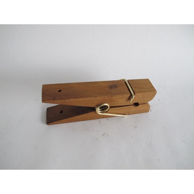 Image of Oversized Wooden Clothespin