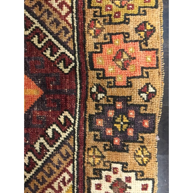 "Bellwether Rugs Vintage Turkish Oushak Rug - 4'1""x8'11"" - Image 7 of 9"