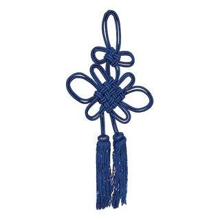 Vintage Tassel Tie-Back in Blue