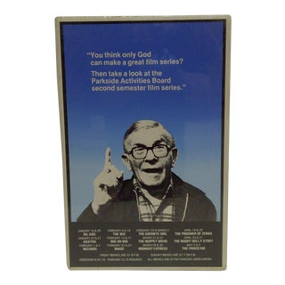C. 1980 George Burns Film Series Poster