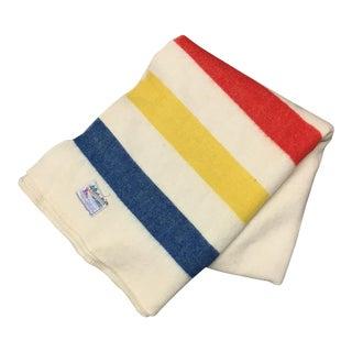 Orrlaskan Vintage Wool Hudson Bay Style Blanket