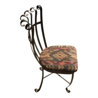 Wrought Iron Accent Chair
