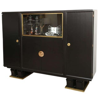 A French Deco Library Cabinet