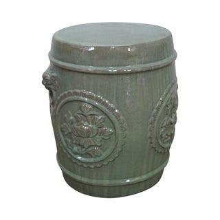 Vintage Chinese Celadon Garden Seat