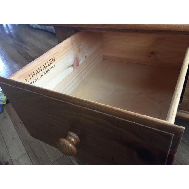 Ethan Allen Farmhouse Pine Coffee Table Chairish