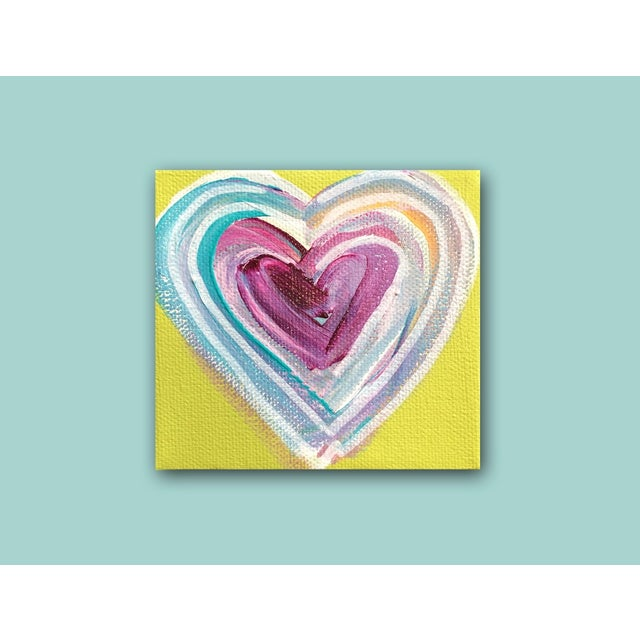 Image of 'Tropical Heart' Painting by Linnea Heide