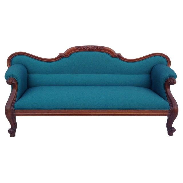 Antique Baltic Sofa - Image 1 of 9