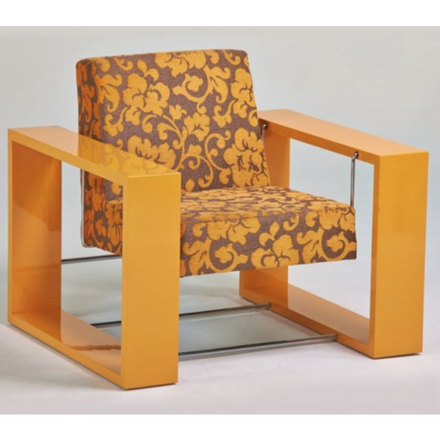 Paco Capdell Cuna Rocking Lounge Chair - Image 2 of 6