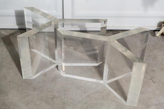 Lucite Table Base   Image 2 Of 3