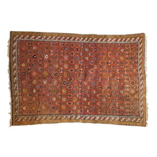"Antique Karabakh Rug - 4'1"" x 5'9"""