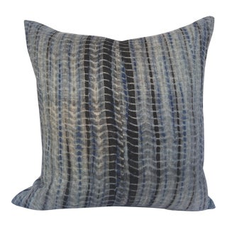 Thai Woven Hemp Tie Dye Pillow
