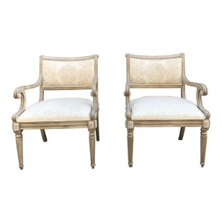 Kreiss Collection Upholstered Chairs - A Pair