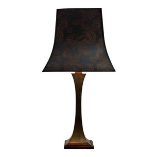 Maison Jansen 1960 Brass Table Lamp