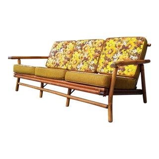 C.1950's Ficks Reed Bamboo Rattan Sofa