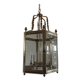 Antique Brass Chandelier Lantern