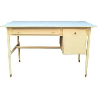 Drexel Mid-Century Desk in Ivory