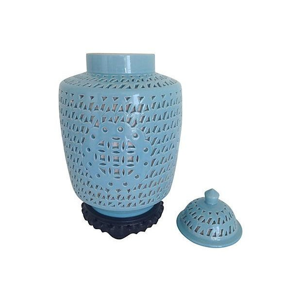 Image of 1950s Blanc De Chine Jar Lamp