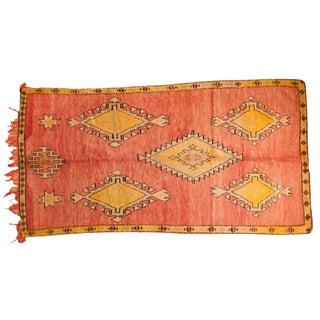 Vintage Moroccan Rug -5′9″ × 10′6″