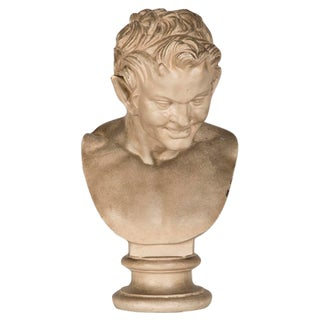 """A plaster bust of a character from """"The Ring of the Niebelungen"""" by Richard Wagner, Germany c. 1895"""