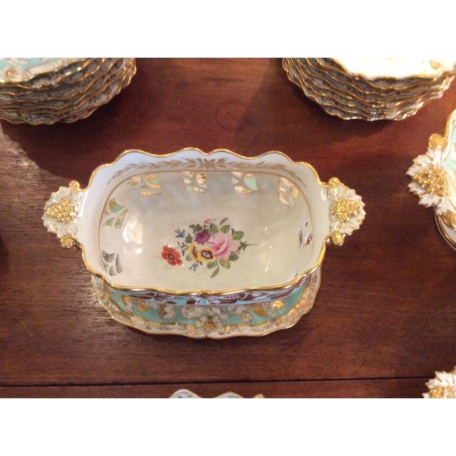 Large Antique Dessert Service- circa 1830's - Image 4 of 5