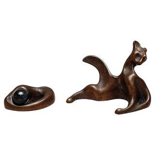 Colin Webster-Watson Bronze Cats