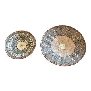 African Tonga Baskets - Set of 2