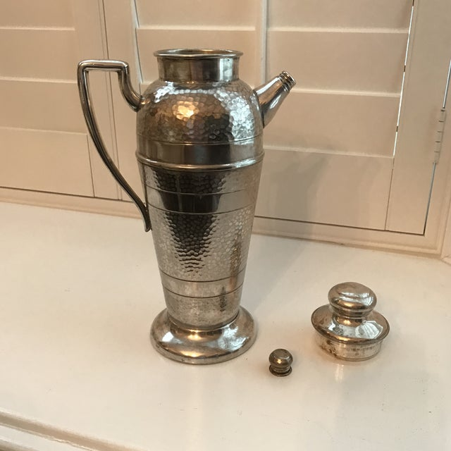 Forbes Silver Co. Art Deco Martini Shaker - Image 4 of 11