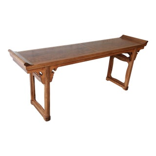 Beautiful Burled Altar Table by Baker