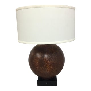 Contemporary Round Base Table Lamp