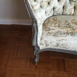 Image of Victorian Reupholstered & Restored Walnut Settee