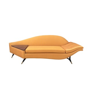 Sculptural Karpen of California Loveseat