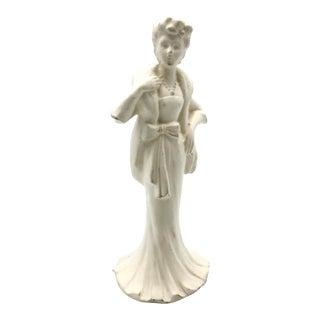 Hollywood Glam Starlet Figurine Bud Vase, 1950s