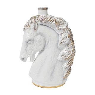 Italian Borghini White Wine Horse Head Decanter