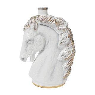 Italian Borghini White Wine Horse Head Decanter