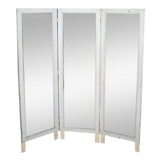 French Three-Panel Dressing Mirror / Screen