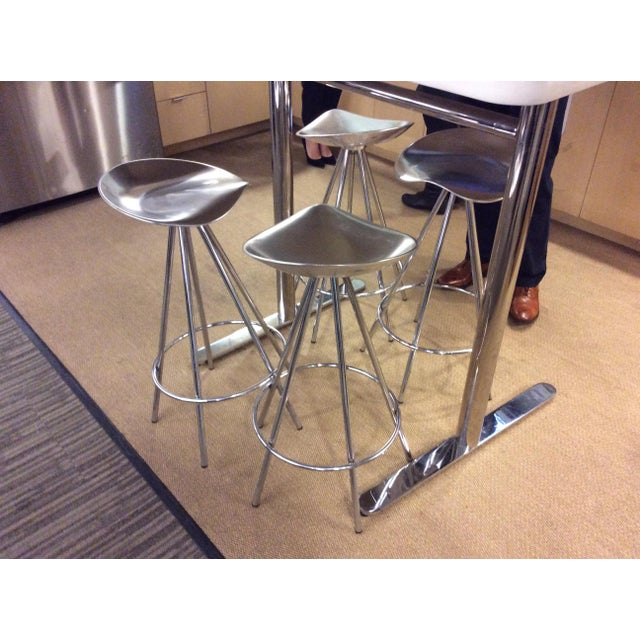 Knoll Jamaica Counter Stools by Pepe Cortes - Set of 4 - Image 3 of 6